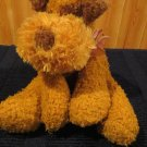 DanDee collectors choice Plush Golden Tan dog with brown Ears Terrier Dan Dee