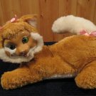 Hasbro Kitty Surprise Plush Kitty Cat Green eyes  No Kittens
