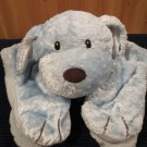 Comfy Cozy Blue Puppy Dog Security Blanket Lovey 5846