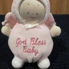 Baby Gund Pllush Pink angel Rattle Doll 5676