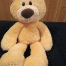 "Gund G5.0 Take along creamy orange Bear 15"" plush Lovey"