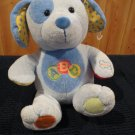 Carters animated Singing Plush Puppy Dog ABC