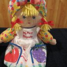 Eden Plush Talking Doll My First Playmate Feed Me I say Yummy