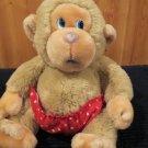 Plush Baby Chee Chee Monkey Russ Berrie # 472