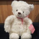 Hallmark Plush White Polar Teddy Bear From my Heart