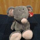 2005 Retired TY Plush Classic Gray Mouse named Rocker