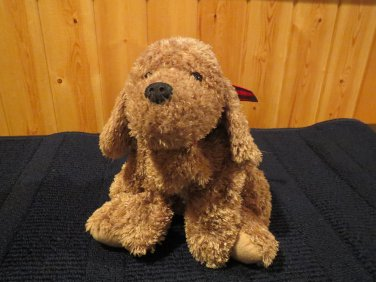 2003 Princess Soft Toy Plush Floppy Style Puppy Dog Light Brown