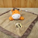 Circo Target orange Giraffe in Tan Security Blanket with Bee