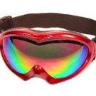 Ski Goggles Red  Frames Icebird by Birdz Eyewear