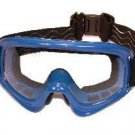 Goggles Blue with Clear Lens Dirty Bird Birdz Eyewear