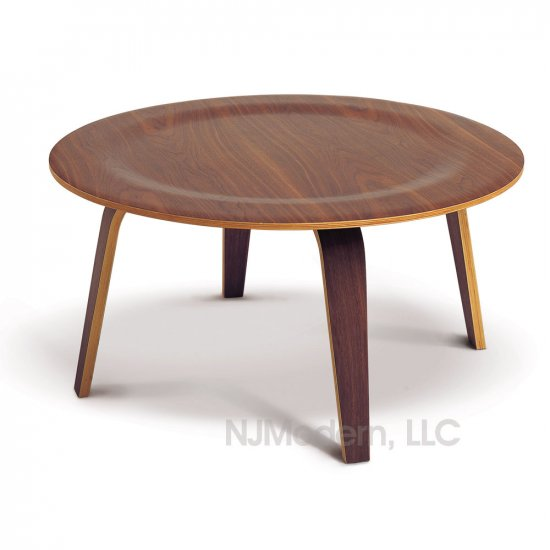 Eames Type Dimple Plywood Coffee Table