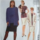 MCCALLS #3973 Uncut Sz 22 Jacket Top Skirt & Flower Sewing Pattern