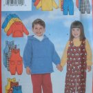 BUTTERICK OOP#5164 Uncut Sz 2-4 Jumpsuit, Top & Pants Sewing Pattern