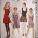 McCalls #7824 Uncut Size 8-12 Semi-fitted Jumper Sewing Pattern