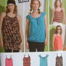 SIMPLICITY #2903 Uncut Sz 11-16 Jr's Mini Dress or Top Sewing Pattern