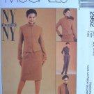 MCCALLS OOP#2962 Uncut Sz 12-16 Jacket, Skirt & Pants Sewing Pattern