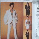 MCCALLS OOP#3441 Uncut Sz12-16 Jacket, Top, Pants & Skirt Sewing Pattern