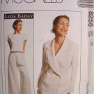 MCCALLS OOP#8256 Uncut Sz 12 Jacket, Top & Pants Sewing Pattern