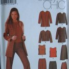 SIMPLICITY OOP#5921 Uncut Sz 4-10 Jacket, Top, Pants & Skirt Sewing Pattern