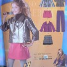 SIMPLICITY #2833 Uncut Girls & Girls+ H Montana Outfit Sewing Pattern