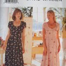 BUTTERICK #6058 Uncut Sz 8-12 Fitted, Lined Dress Sewing Pattern