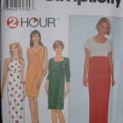 "Simplicity #8201 Uncut Size 12-16 ""2-hr"" Knit Dresses Sewing Pattern"
