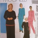 MCCALLS OOP#3020 Uncut Womens Sz 40-46 Top, Skirt & Pants Sewing Pattern