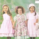 MCCALLS #3949 Uncut Sz 6-8 Loose-fit Dress, Pinafore & Petticoat Sewing Pattern