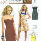 "MCCALLS #5881 Uncut Sz 4-18 ""diystyle"" Halter or Strapless Summer Dresses Sewing Pattern"