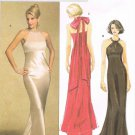 BUTTERICK #5182 Uncut Sz 6-12 Dress; Close-fit Bodice, Semi-fit Skirt w/Train Sewing Pattern