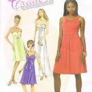 MCCALLS #6029 Uncut Sz 4-12 Create Your Own Design Dresses & Flower Necktie Sewing Pattern