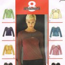 MCCALLS #2886 Uncut Sz 8-10 Bolero & Sleeveless Set Top; Long or 3/4 Sleeves Sewing Pattern