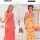 BUTTERICK #5472 Uncut Sz 6-10 Close-fit Pullover Bias Dress w/Shoulder Straps Sewing Pattern