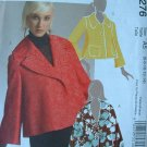 MCCALLS #5276 Uncut Sz 6-14 Very Loose-fit Unlined Jacket; Back Pleat Sewing Pattern