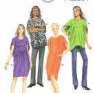 BUTTERICK #5848 Uncut Sz 4-14 Top, Dress & Belt (Suitable for Maternity) Sewing Pattern