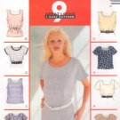 MCCALLS #2565 Uncut Sz 8-12 Misses Pullover Tops Sewing Pattern