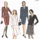 MCCALLS #8460 Uncut Sz 12-16 Semi-fit Jacket, Straight Skirt & Flared Skirt Sewing Pattern