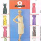 MCCALLS #3673 Uncut Sz 14-20 Straight Dress w/belt; neck & sleeve variations Sewing Pattern