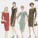 MCCALLS #2921 Uncut Sz 8-12 Semi-fit Dress w/ Sleeve Variations & Lined Bag Sewing Pattern