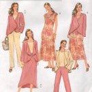 BUTTERICK #4402 Uncut Sz 8-14 Jacket, A-Line Sleeveless Dress, Top, Pants, Skirt Sewing Pattern