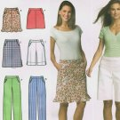 SIMPLICITY #4701 Uncut Sz 4-10 Skirt, Shorts & Pants w/Hem variations Sewing Pattern