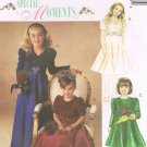 MCCALLS #3886 Sz 10-14 Special Moments Lined Dresses w/Sleeve & Neck Variations Sewing Pattern