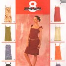 MCCALLS #3228 Uncut Sz 6-10 Misses Slip Dress; Straight or Scoop Neck Sewing Pattern