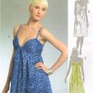 MCCALLS #5381 Uncut Sz 4-12 A-Line or Slightly Flared Summer Dresses w/Straps Sewing Pattern