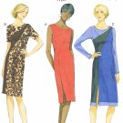 BUTTERICK #5852 Uncut Sz 6-22 Fitted Dress w/Slit; Sleeve Variations Sewing Pattern