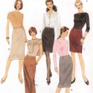 MCCALLS #2726 Uncut Sz 4-8 Slim Skirts in 3 Lengths; Back or Side Slits Sewing Pattern