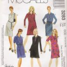 MCCALLS #3283 Uncut Sz 6-10 Dress, Blouson Top & Bias Skirt Sewing Pattern