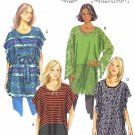 BUTTERICK #5855 Uncut Sz Xsm-Med (4-14) Tunic & Belt (Suitable Maternity) Sewing Pattern