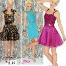 SIMPLICITY #1497 Uncut Sz 4-12 Flirty Dress w/Bodice & Skirt Variations; Prom