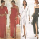 BUTTERICK #6008 Sz 6-10 Semi-fit Strapless Dress, Bolero & Scarf